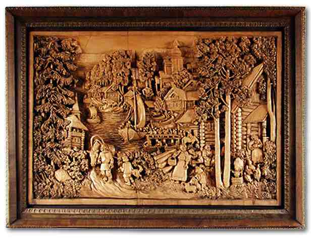Russian wood carving 27