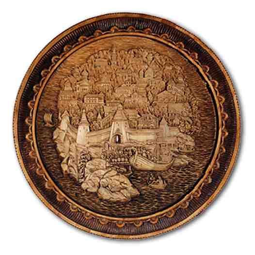 Russian wood carving 28