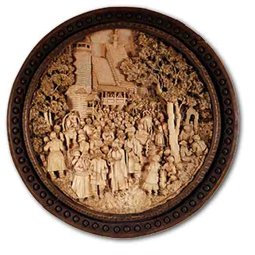 Russian wood carving 29
