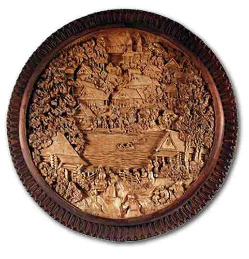 Russian wood carving 30