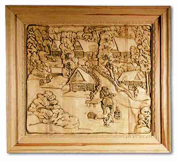 Russian wood carving 31