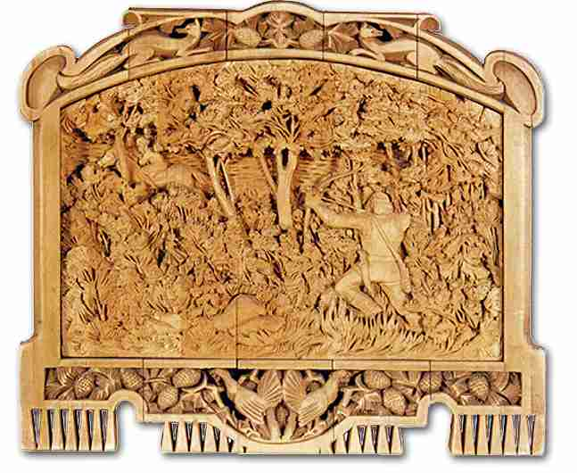 Russian wood carving 32
