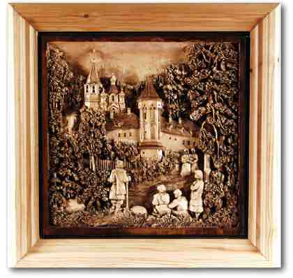 Russian wood carving 33