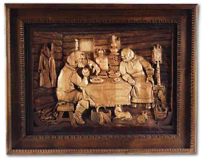 Russian wood carving 34