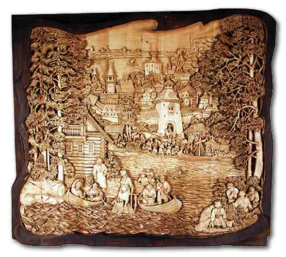 Russian wood carving 37