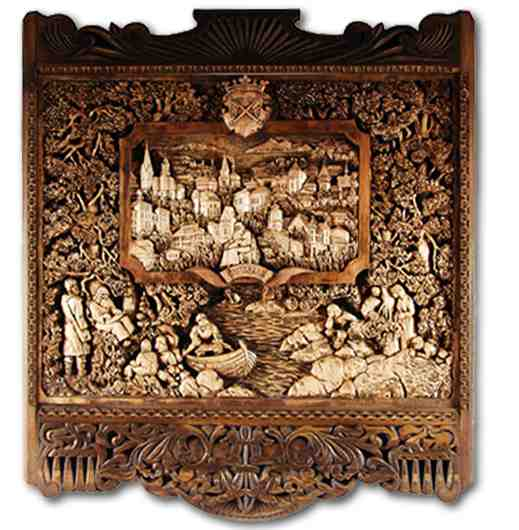 Russian wood carving 39