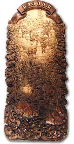 Russian wood carving 4
