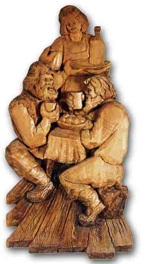 Russian wood carving 5