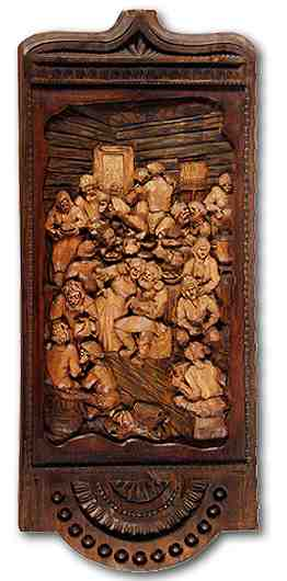 Russian wood carving 7