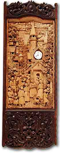 Russian wood carving 8