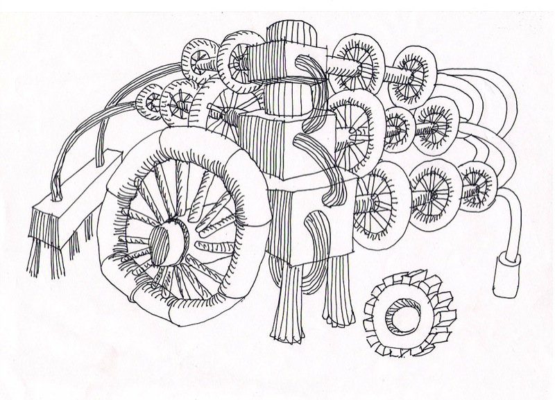 Russian wooden hadron collider 12