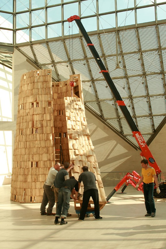 Russian wooden hadron collider 14