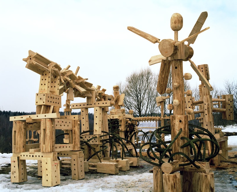 Russian wooden hadron collider 7