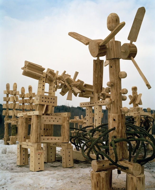 Russian wooden hadron collider 8