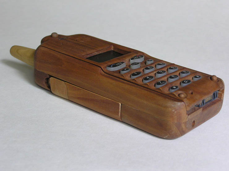 russian wooden phone 2