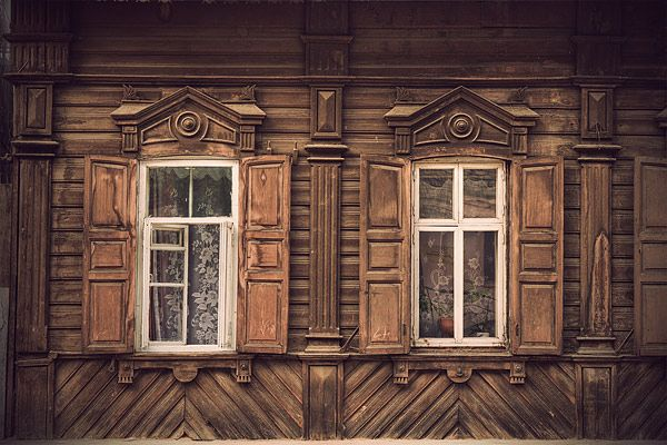 Russian wooden architecture 18