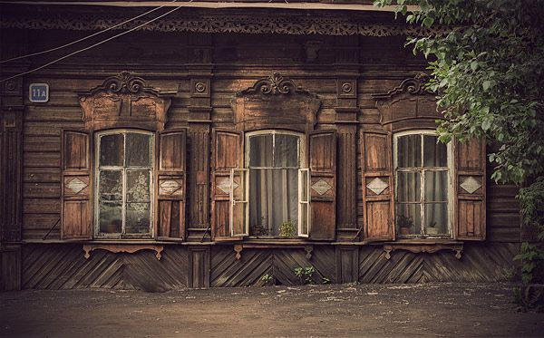Russian wooden architecture 19