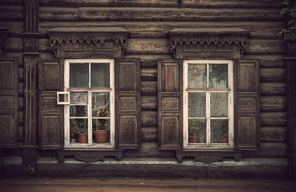 Russian wooden architecture 20