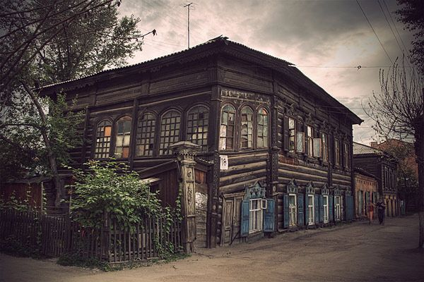 Russian wooden architecture 21