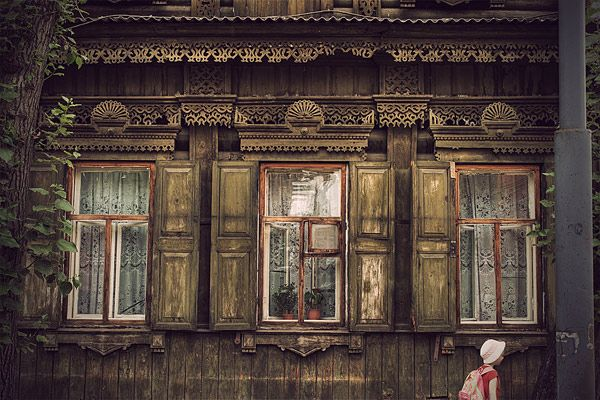 Russian wooden architecture 23
