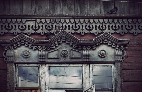 Russian wooden architecture 25