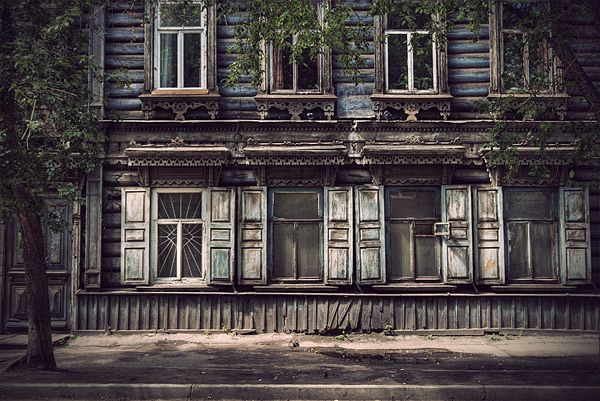 Russian wooden architecture 27
