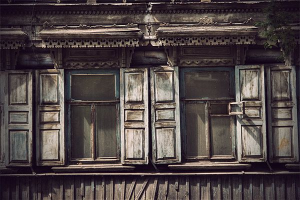 Russian wooden architecture 28