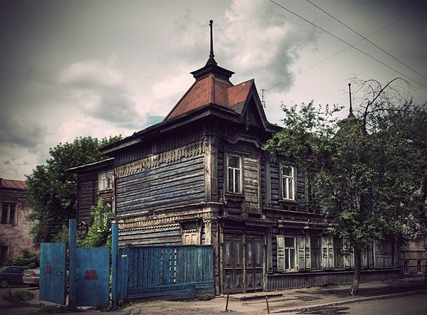 Russian wooden architecture 29
