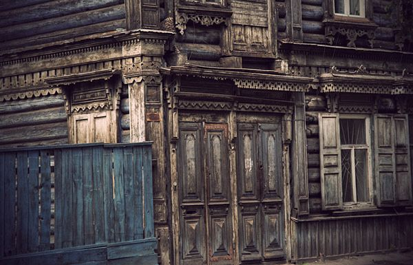 Russian wooden architecture 30