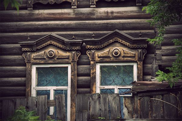 Russian wooden architecture 32
