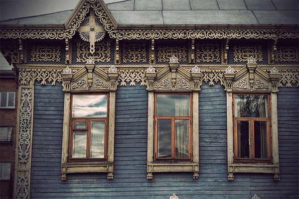 Russian wooden architecture 34