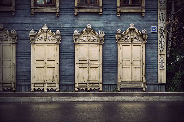 Russian wooden architecture 36