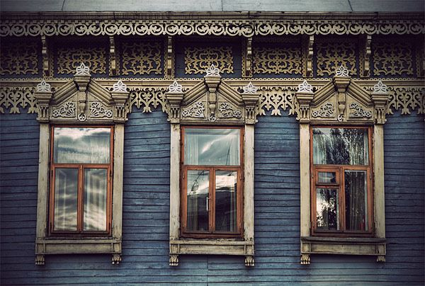 Russian wooden architecture 37