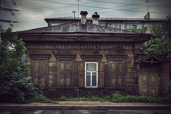 Russian wooden architecture 38