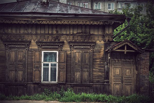 Russian wooden architecture 39