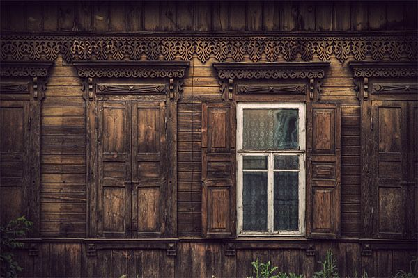 Russian wooden architecture 40