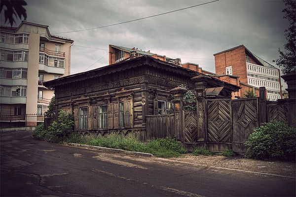 Russian wooden architecture 41