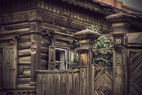 Russian wooden architecture 42