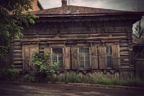 Russian wooden architecture 44