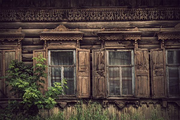 Russian wooden architecture 45
