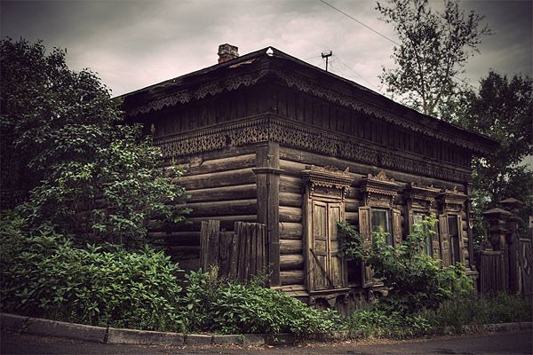 Russian wooden architecture 46