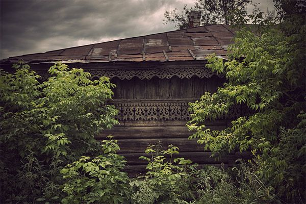 Russian wooden architecture 47
