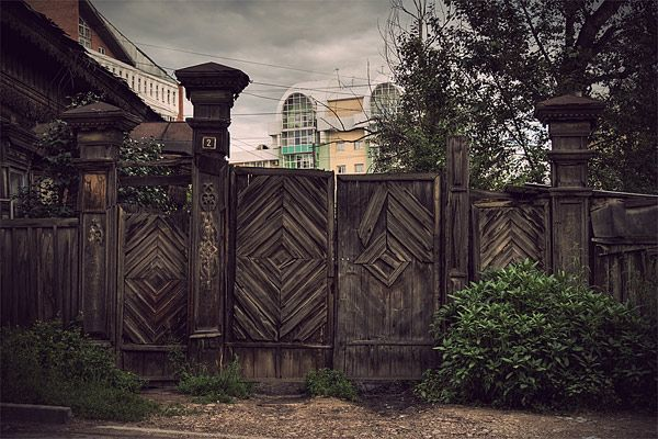 Russian wooden architecture 48