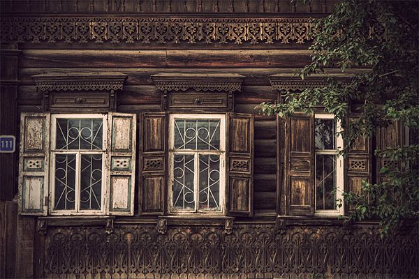 Russian wooden architecture 49