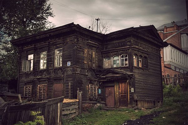 Russian wooden architecture 50
