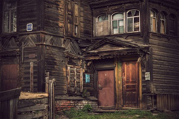 Russian wooden architecture 51