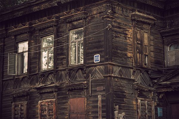 Russian wooden architecture 52