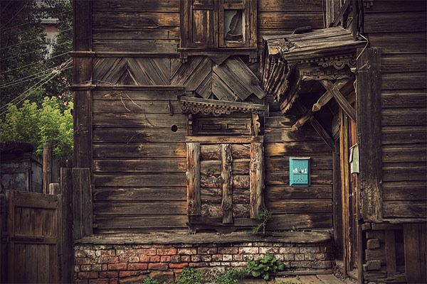 Russian wooden architecture 54