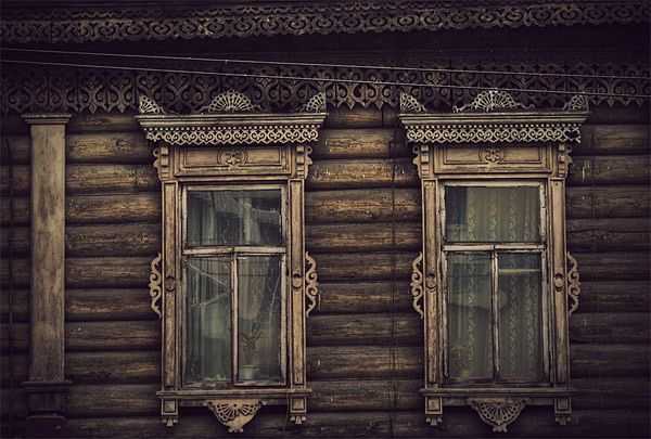 Russian wooden architecture 55