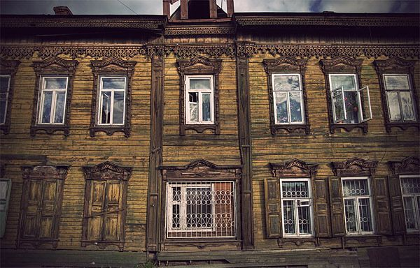 Russian wooden architecture 56